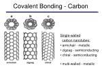 covalent bonding carbon