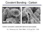 covalent bonding carbon15