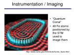 instrumentation imaging
