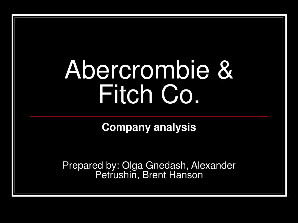abercrombie fitch co l.