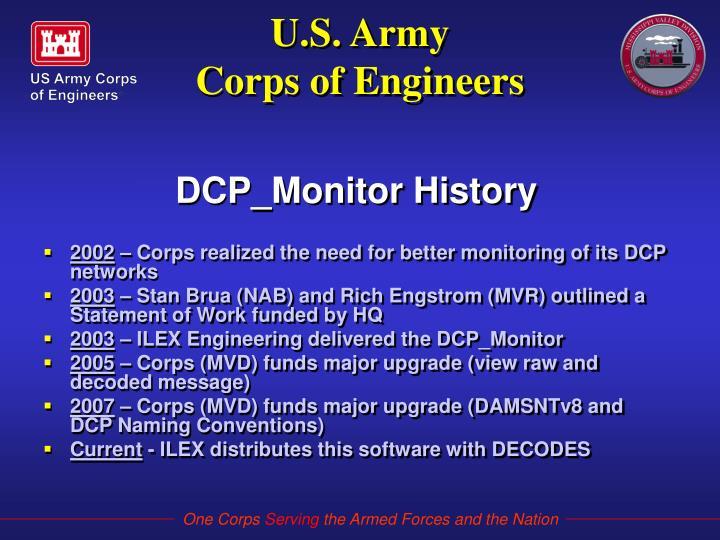 U s army corps of engineers