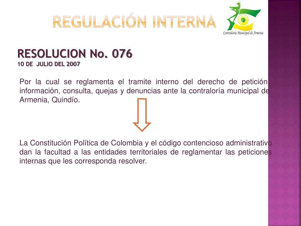 Regulación interna