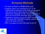 armenia methods