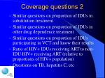 coverage questions 2