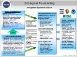 ecological forecasting integrated system solution