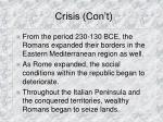 crisis con t