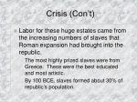 crisis con t36