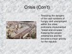 crisis con t38