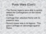 punic wars con t