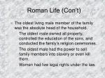 roman life con t15