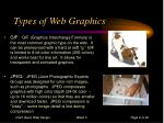 types of web graphics