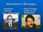 revolution in nicaragua