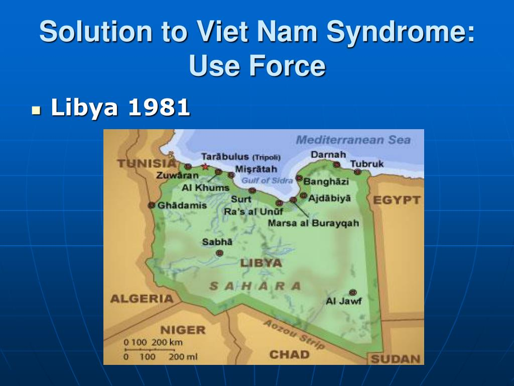 Solution to Viet Nam Syndrome: Use Force