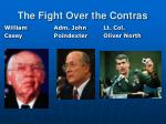 the fight over the contras