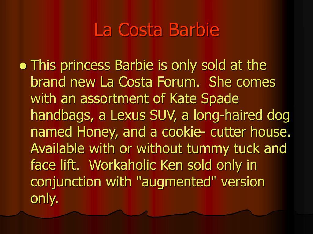 La Costa Barbie