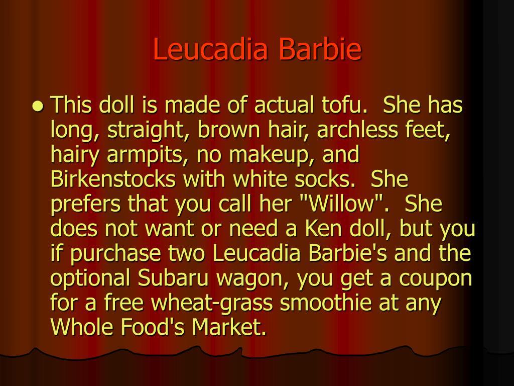 Leucadia Barbie
