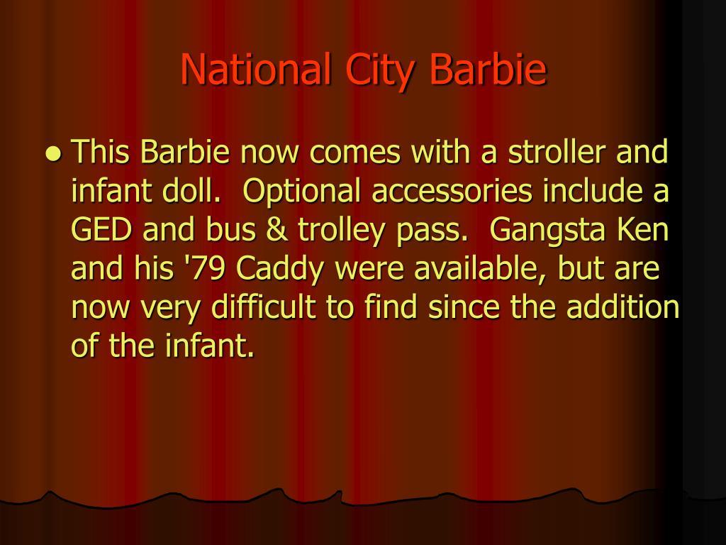 National City Barbie