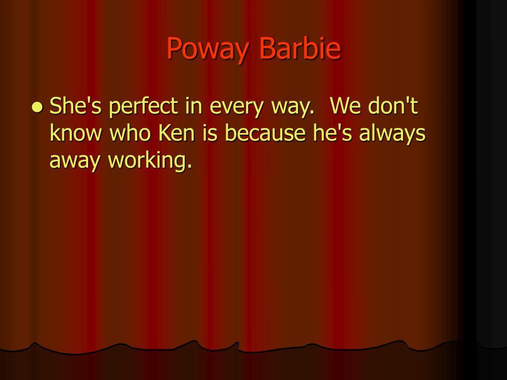 Poway Barbie