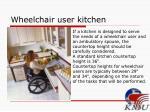 wheelchair user kitchen