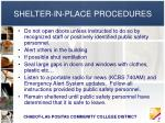 shelter in place procedures14