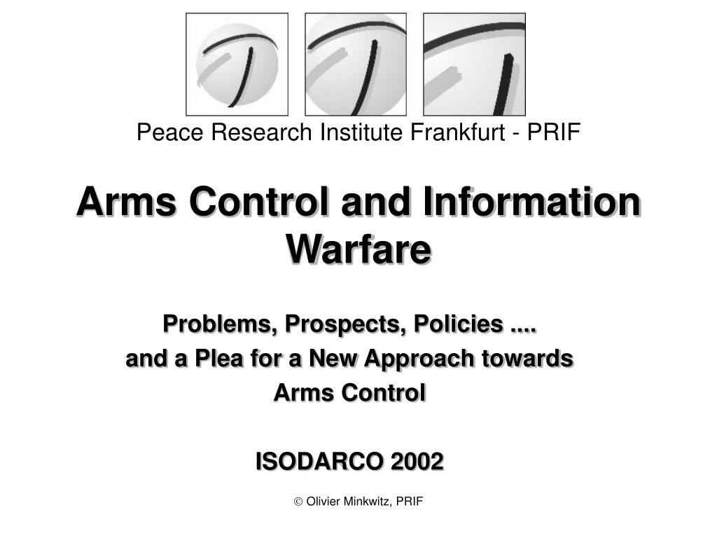 Arms Control and Information Warfare