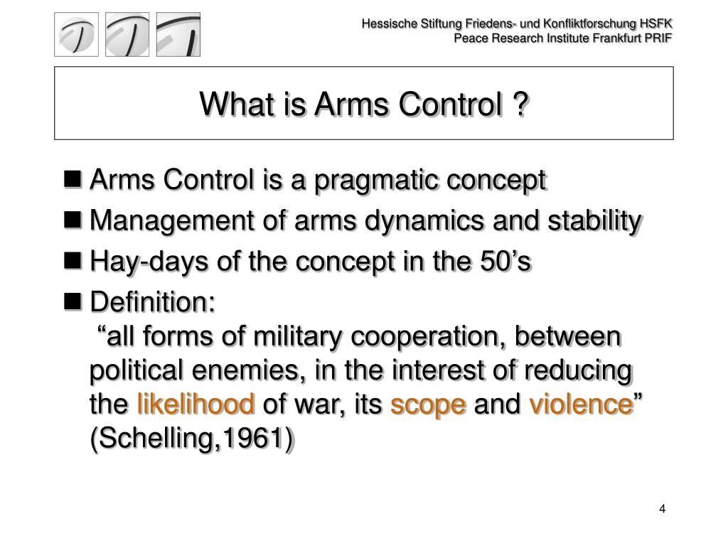What is Arms Control ?