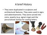 a brief history15