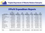 swam expenditure reports4