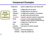 component examples35