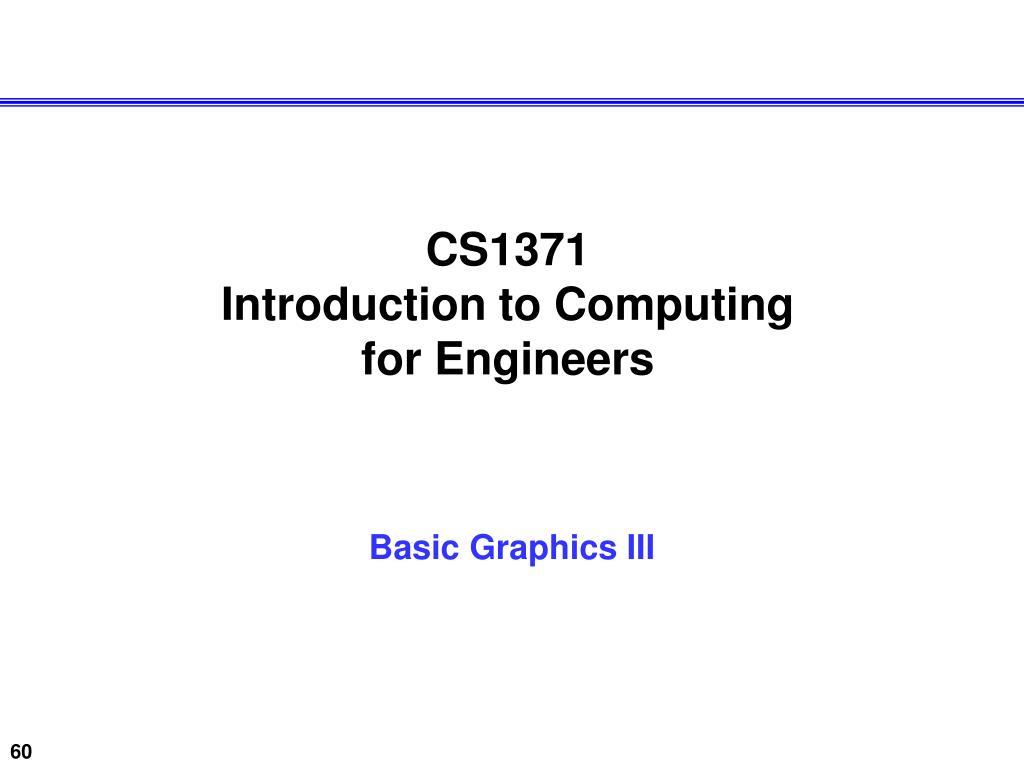 CS1371