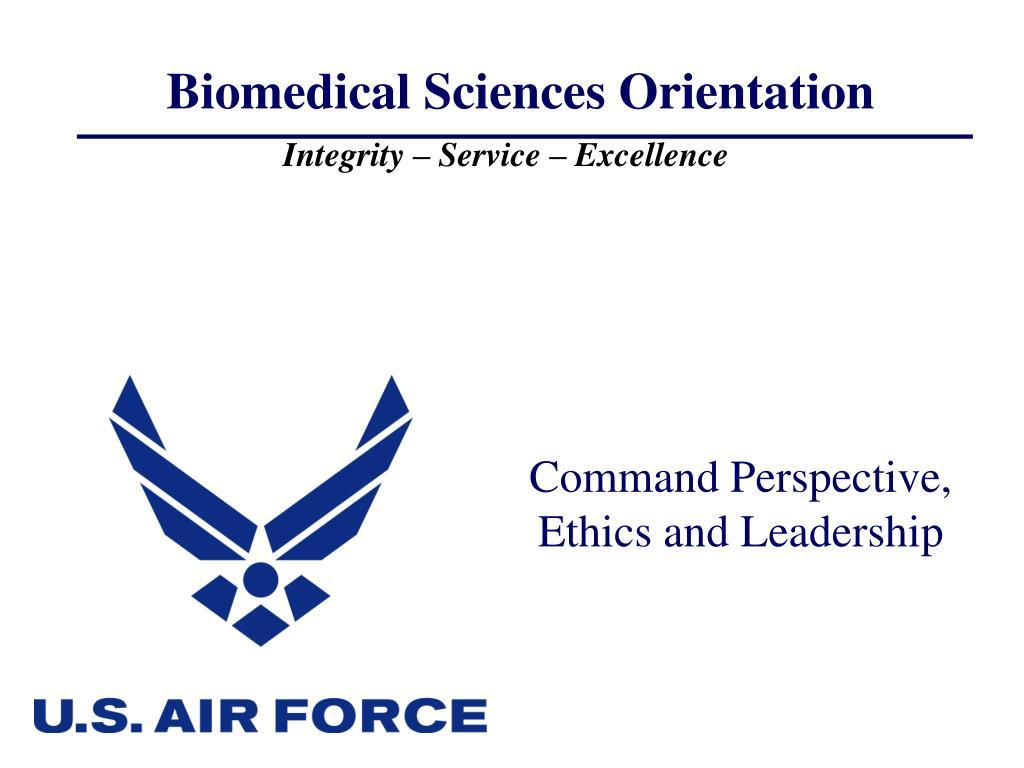 Biomedical Sciences Orientation