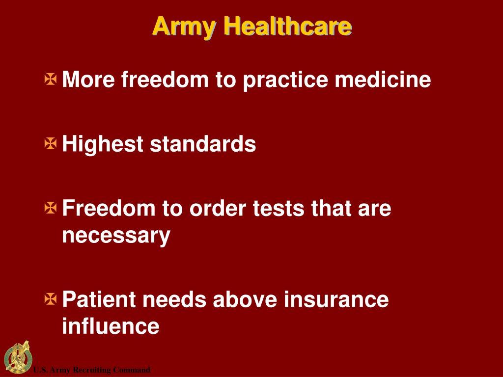 Army Healthcare