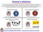 director s initiatives