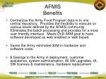 afmis benefits