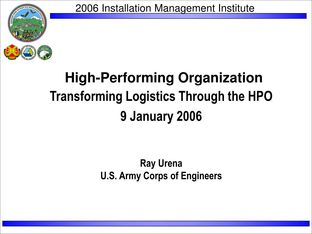 high performing organization l.