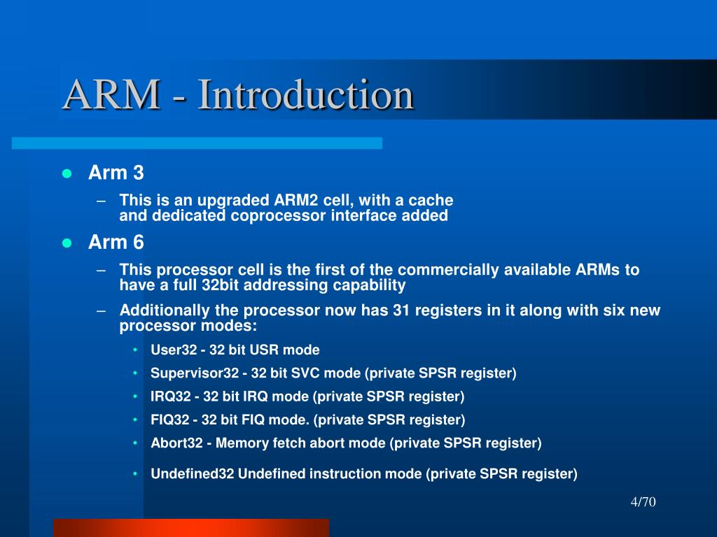 ARM - Introduction