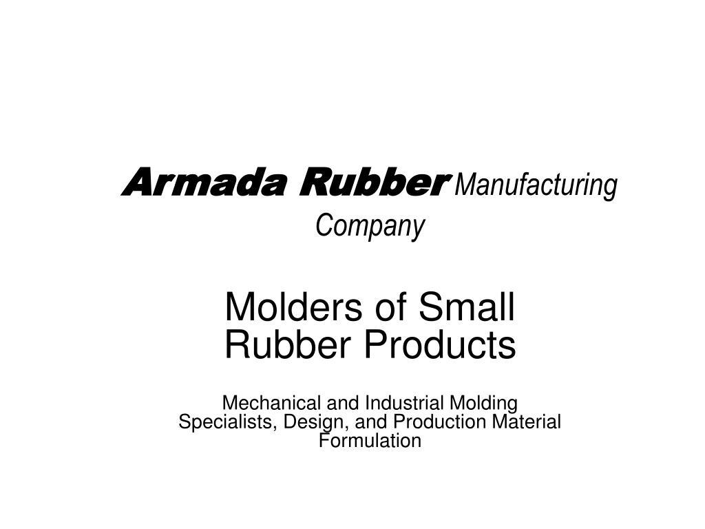 armada rubber manufacturing company l.