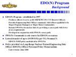 edo n program background