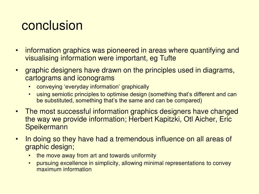 information graphics was pioneered in areas where quantifying and visualising information were important, eg Tufte