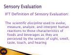 sensory evaluation7