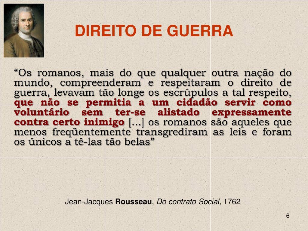 DIREITO DE GUERRA