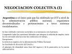 negociacion colectiva i