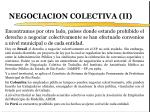 negociacion colectiva ii