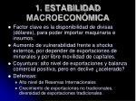 1 estabilidad macroecon mica