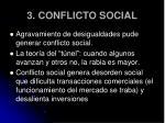 3 conflicto social