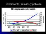 crecimiento salarios y pobreza