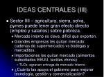 ideas centrales iii