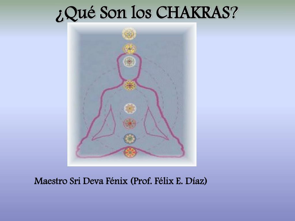 qu son los chakras l.