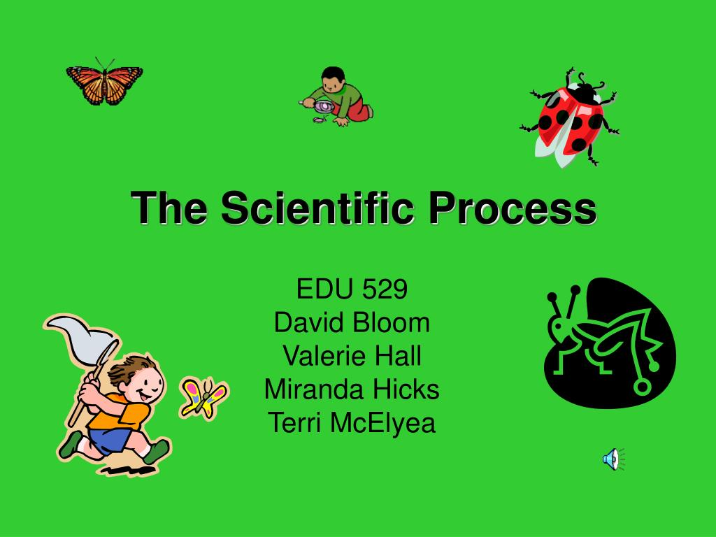 the scientific process l.