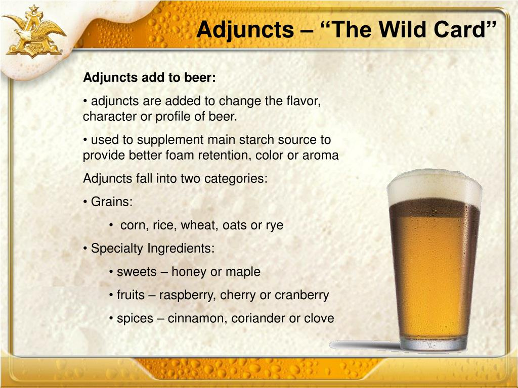 """Adjuncts – """"The Wild Card"""""""